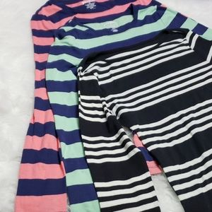 Old Navy Tops - Old navy perfect crew long sleeve bundle of 3
